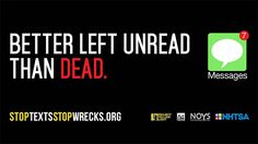 Keep Communities Safe by Avoiding Distracted Driving It Can Wait, National Safety, Driving Safety, Distracted Driving, Don't Speak, Billboard, Texts, Messages, Ads