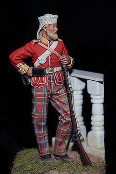 72nd Highlanders 1857