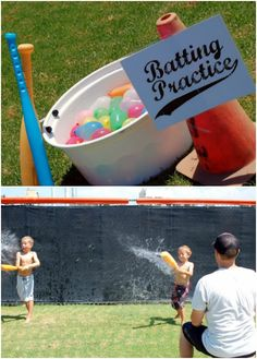 Creative Kids Party Games for your celebration. These ideas transfer well to bir… Creative Kids Party Games for your celebration. These ideas transfer well to birthdays, outdoor gatherings, and even in the classroom! Water Birthday Parties, 3 Year Old Birthday Party Boy, Baseball Theme Birthday, Sports Themed Birthday Party, Birthday Party Games For Kids, Backyard Birthday, Baseball Party Games, Baseball Games For Kids, Softball Birthday Parties