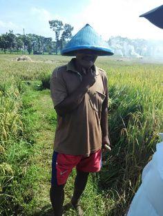 Indonesian Traditional Farmer. Sumberpucung, Malang, East Java.