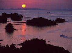 船越展望所から見る南九十九島