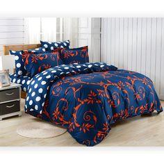 Duvet Cover Sheets Set, Dolce Mela Crete Queen Size Bedding