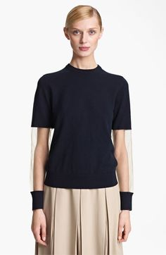 Michael Kors Illusion Sleeve Cashmere Sweater available at #Nordstrom