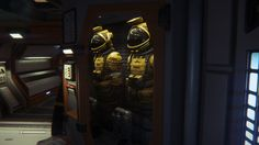 Not exactly NASA grade space suits but they aren't going to the moon today.