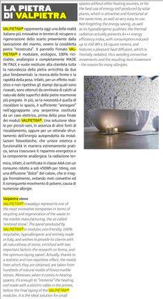 DDB Design Diffusion Bagno - settembre 2015 Valpietra Save Energy, Diffuser, Innovation, Design