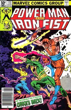 Browse the Marvel Comics issue Power Man and Iron Fist Learn where to read it, and check out the comic's cover art, variants, writers, & more! Comic Book Covers, Comic Books, Comic Art, Iron Fist Powers, Iron Fist Comic, Luke Cage Iron Fist, Luke Cage Marvel, Power Man, Marvel Comics Art