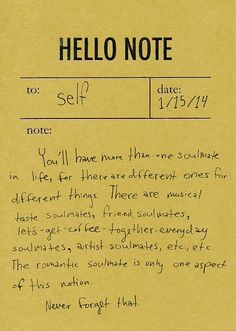 i wonder if you can combine a couple of these say: a friend-, music-, and lets-get-coffee soulmate...