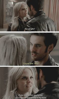 Once Upon a Time. OUaT. Captain Swan. Hook & Emma. Season 4 Episode 8: