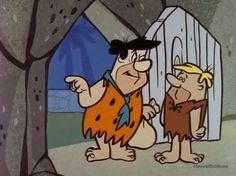 Fred Flintstone and Barney Rubble. Good Cartoons, Best Cartoons Ever, Old School Cartoons, Famous Cartoons, Animated Cartoons, Flintstone Family, Fred Flintstone, Classic Cartoon Characters, Classic Cartoons