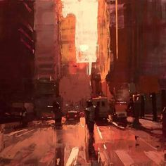 New York morning - Jeremy Mann