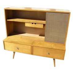 Paul McCobb; Maple 'Planner Group' Cabinets for  Winchendon, 1950s.