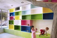 Diseño de espacios infantiles, Peluquería en N.Yoyk