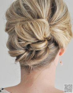 2. The #Easier than It Looks Updo - 15 Easy #Updos That You Can do in under 5 Minutes ... → Hair #Bobby