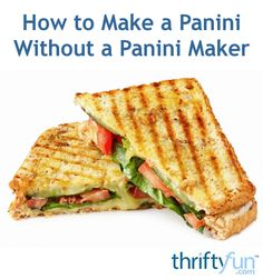 Even without a panini grill, you can still make a delicious grilled panini sandwich. This is a guide about using bacon press as a panini weight.