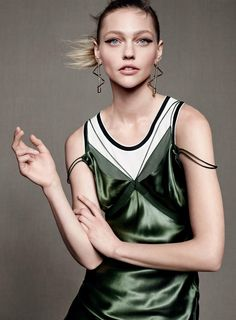 ☆ Sasha Pivovarova | Photography by Karim Sadli | For Vogue Magazine US | May 2015 ☆ #Sasha_Pivovarova #Karim_Sadli #Vogue #2015