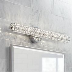 "This is for MBATH  Vienna Full Spectrum Crystal Bar 27 1/2"" Wide Bath Fixture"