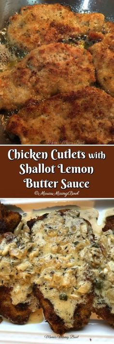 Chicken Cutlets with