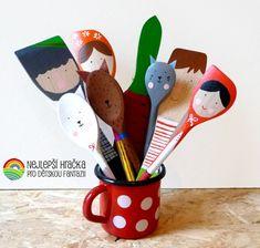 Measuring Spoons, Kindergarten, Wren, Handmade, Logo, Children, Young Children, Hand Made, Logos