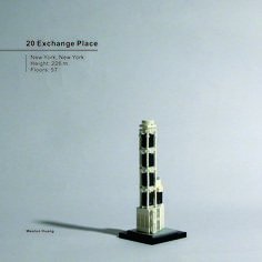 20 Exchange Place Lego Skyscraper, Lego Architecture, Lego Projects, Skyscrapers, Legos, Buildings, Places, Architecture, Lego