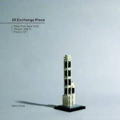 20 Exchange Place Lego Skyscraper, Skyscrapers, Legos, Buildings, Flooring, Places, Architecture, Lego, Hardwood Floor