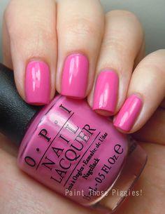 Suzi Has a Swede Tooth Love Nails, Fun Nails, Pretty Nails, Mani Pedi, Nail Manicure, Opi Colors, Colours, Opi Polish, Gel Color