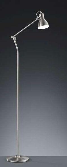 Stehleuchte Serie 3005 AGL Nickel matt