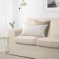 Online Ikea IKEA EKTORP Three-seat sofa, Lofallet beige- in Auckland NZ. Lowest prices and largest range of IKEA Furniture in New Zealand. Shop for Living room furniture, outdoor furniture, bedroom furniture, office and alot more ! Ikea Ektorp Sofa, Ektorp Sectional, Ektorp Sofa Cover, Beige Sectional, Loveseat Covers, Living Room Sectional, Canapé Design, Sofa Design, Home Goods Store