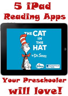 Truly a great list!!!  iPad Reading Apps for your preschooler.