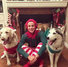 Cam, Jaxx, & Jakey are ready for Christmas!!!