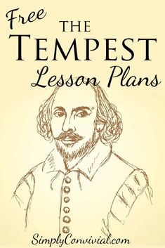 Shakespeare's The Tempest resources and lesson plans to help kids fall in love with the world of Shakespeare and enjoy this fun, magical play!