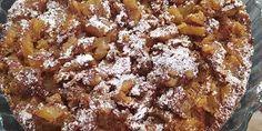Εξαιρετική συνταγή για εύκολες πάστες αμυγδάλου... Healthy Apple Cake, Vegan Apple Cake, Moist Apple Cake, Easy Apple Cake, Apple Cake Recipes, Granola Bar Recipe Easy, No Bake Granola Bars, Upside Down Apple Cake, Jewish Apple Cakes
