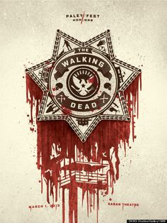 The Walking Dead ~ Paleyfest Promo Poster