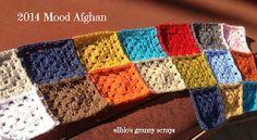 Working on my 2014 Crochet Mood Blanket!