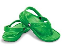 Girls youth Crocs rubber  flip flop style baya