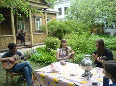 Russian Dacha - private garden plot