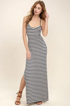 Come a little closer... to take a gander at the O Neill. Striped JerseyStriped  Maxi DressesCool ... 8f042f43176