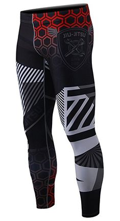 Amazon.com: zipravs BJJ Compression Tight Pants Workout Running Baselayer For Men: Clothing