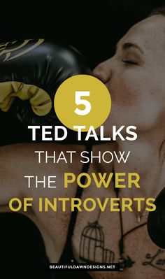 In this article, I'm sharing 5 motivational TED talks for introverts. I am an introvert. I can say that with pride today, but it wasn't always that way.