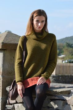Happy Kinda Life - Great for country walks or wearing to work, this cowl neck jumper is versatile and effortless. Our luxury wool, alpaca and acrylic mix has been carefully blended to give you warmth, softness and easy, pop in the washing machine care.