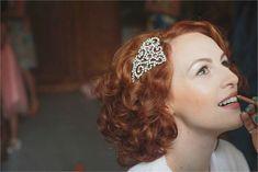 Copper Colored Wedding Hair, Wedding Headband Bridal Curly Copper Colored W Long Hair Wedding Styles, Wedding Hair Down, Trendy Wedding, Wedding Ideas, Dream Wedding, Party Wedding, Wedding Blog, Wedding Hairstyles For Long Hair, Vintage Hairstyles
