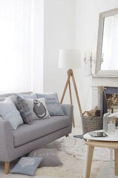 neutrale Farbgestaltung im Wohnraum