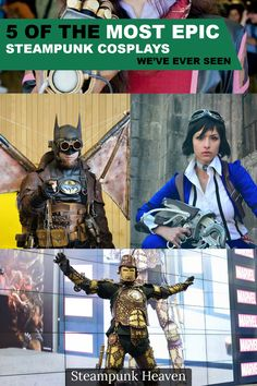 5 Of The Most Epic Steampunk Cosplays We've Ever Seen:  https://steampunkheaven.net/blogs/steampunk-heaven/five-of-the-most-epic-steampunk-cosplays-we-ve-ever-seen