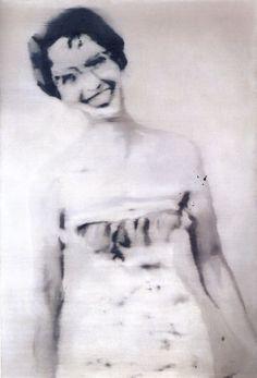 Gerhard Richter  Helen  1964  110 cm x 75 cm  Oil on canvas
