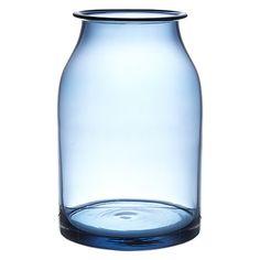 Buy John Lewis Croft Bottle Vase, 26cm, Sapphire Online at johnlewis.com