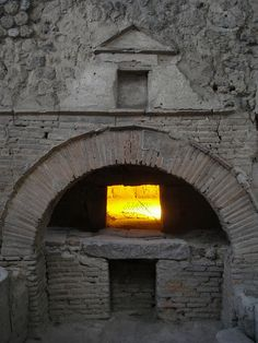 The bakers oven - Pompeii