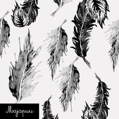Digitrikoo: Höyhenet heleä harmaa Print Design, Fabrics, Prints, Beautiful, Tutorials, Patterns, Art, Tricot, Finland