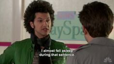 """He's refreshingly honest. 