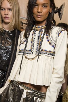 Isabel Marant Spring 2016 Ready-to-Wear Fashion Show Beauty