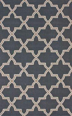Rugs USA Homespun Trellis Charcoal Rug   8' x 5' $344 or 7.5' x 9.5' $612 100% wool