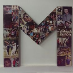 Letter photo frame made for my best friend. #DIY @mpothiwala